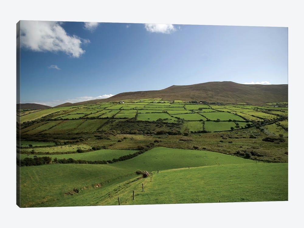 Irish Countryside, Ireland, Farms, Landscape, Scenic by Patrick J. Wall 1-piece Canvas Artwork