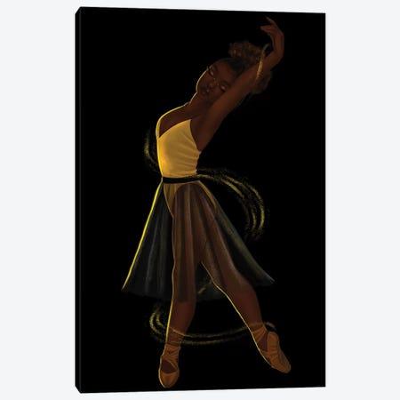 On My Toes Canvas Print #PKA18} by Princess Karibo Canvas Art