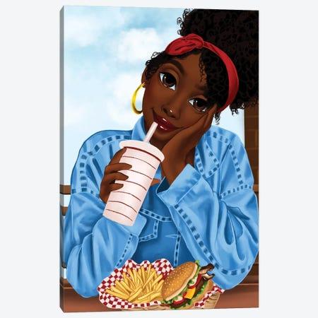 Bate Canvas Print #PKA1} by Princess Karibo Canvas Art