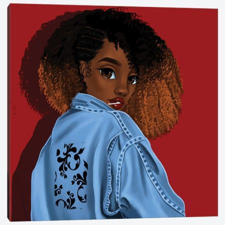 Pose Canvas Print #PKA20} by Princess Karibo Canvas Print
