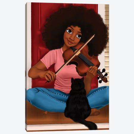 Sade Canvas Print #PKA21} by Princess Karibo Canvas Print