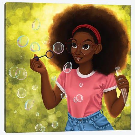 Summer Canvas Print #PKA25} by Princess Karibo Canvas Wall Art