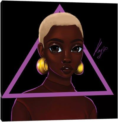 Triangle Canvas Art Print
