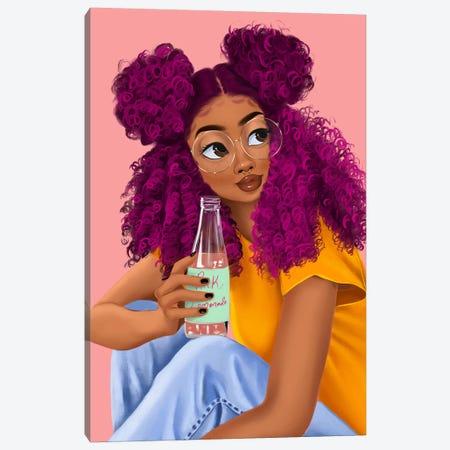 Drink Canvas Print #PKA3} by Princess Karibo Canvas Artwork