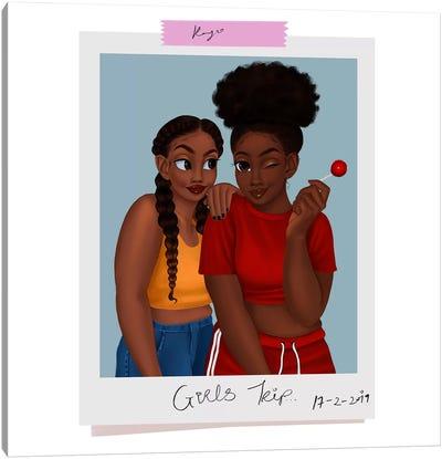 Girls' Trip Canvas Art Print