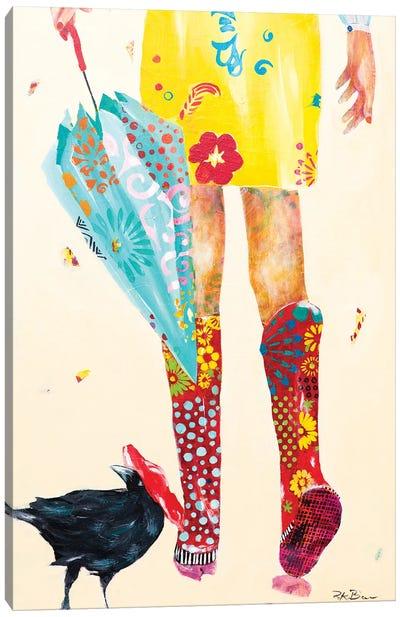 Rainy Day Companions Canvas Art Print