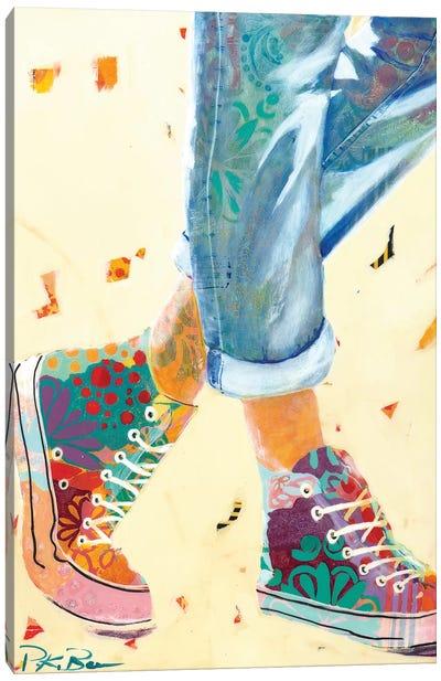 High Tops Canvas Art Print