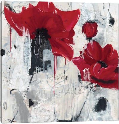 Poppy Love Canvas Art Print