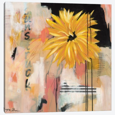 Sunstruck Canvas Print #PKB7} by Pamela K. Beer Canvas Artwork