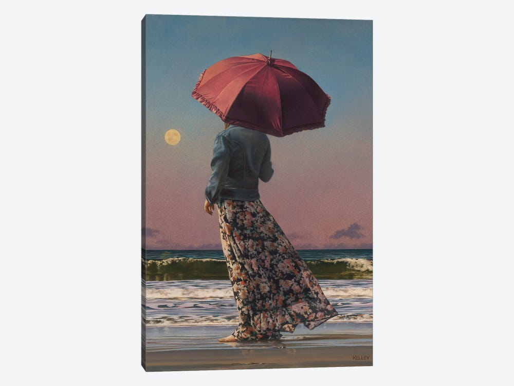 Romancing The Moon by Paul Kelley 1-piece Canvas Wall Art