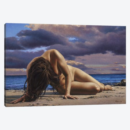 Before The Deluge Canvas Print #PKE18} by Paul Kelley Canvas Art