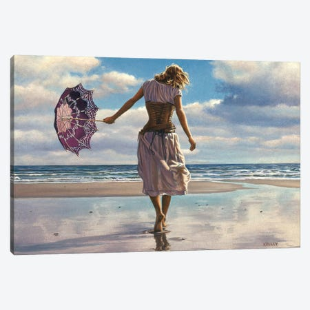 Walking On Broken Clouds Canvas Print #PKE1} by Paul Kelley Canvas Art