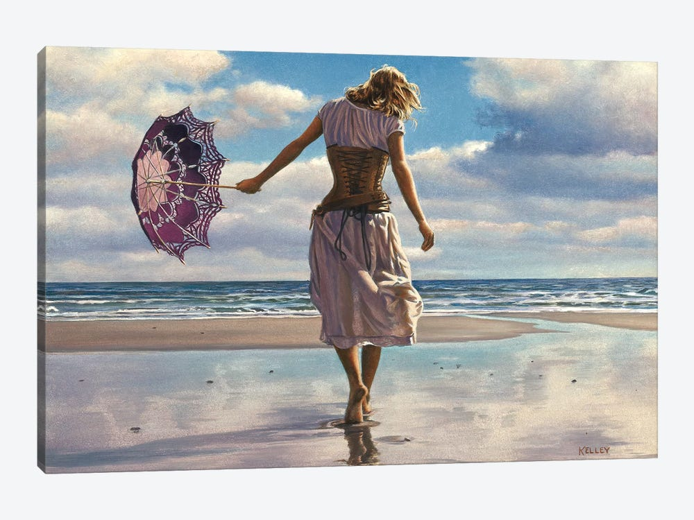 Walking On Broken Clouds 1-piece Canvas Artwork