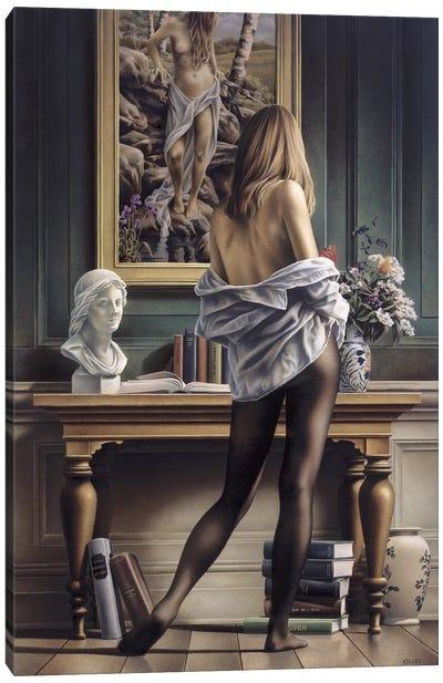 Life Imitating Art Canvas Art Print