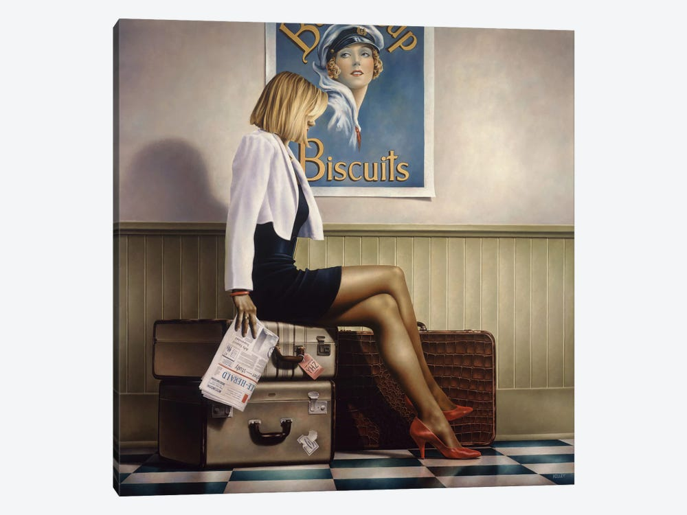 Biscuits by Paul Kelley 1-piece Canvas Print