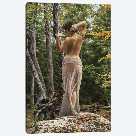 Mystic Forest Canvas Print #PKE31} by Paul Kelley Canvas Artwork