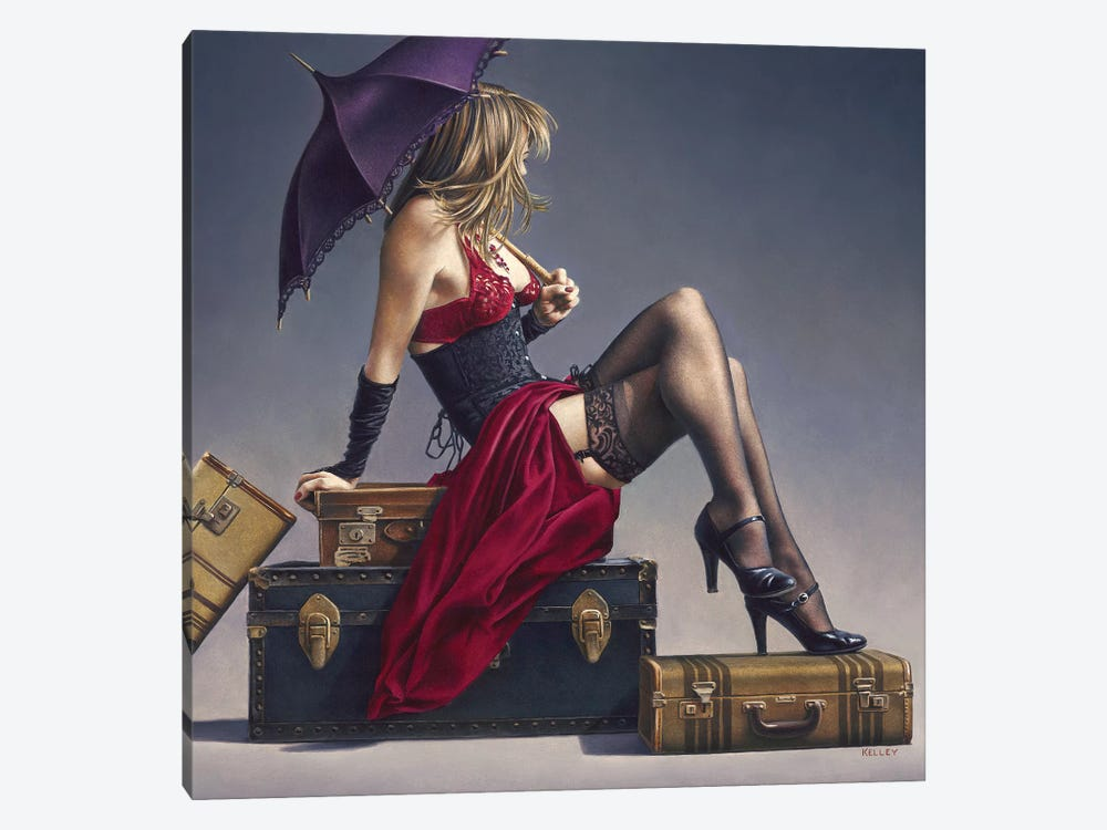 Study For The Exotic Traveller by Paul Kelley 1-piece Canvas Wall Art
