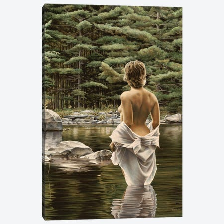 Water Songs Canvas Print #PKE49} by Paul Kelley Canvas Art Print
