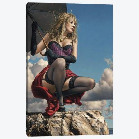 Wind From The West Canvas Print #PKE50} by Paul Kelley Canvas Art