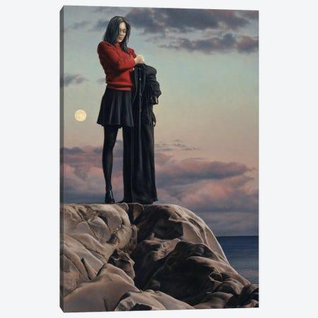 November Moon Canvas Print #PKE55} by Paul Kelley Art Print