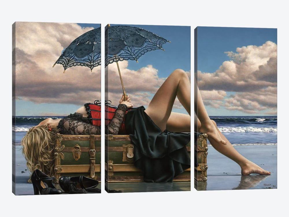 Summers Supine Eve by Paul Kelley 3-piece Art Print