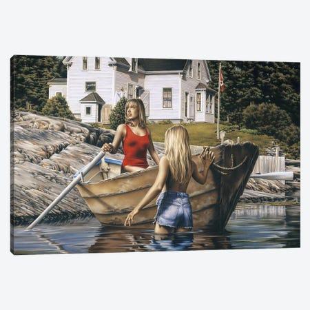 The Cove Canvas Print #PKE60} by Paul Kelley Art Print