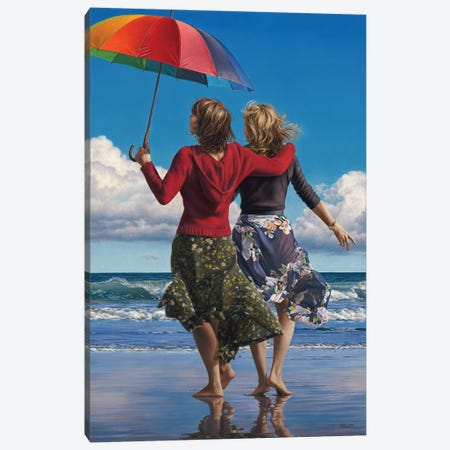 Celebration Of Life Canvas Print #PKE6} by Paul Kelley Canvas Art Print