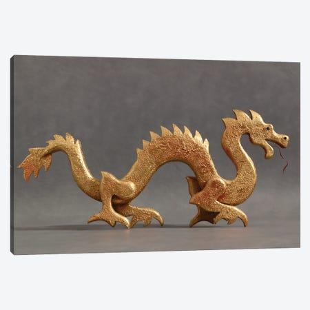 Chinese Dragon Canvas Print #PKE70} by Paul Kelley Canvas Artwork