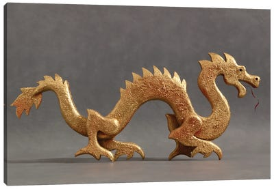 Chinese Dragon Canvas Art Print