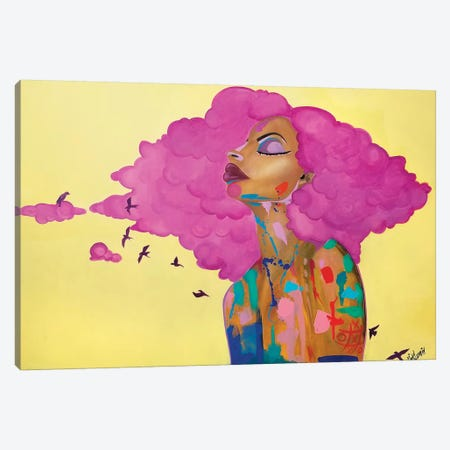 Pink Canvas Print #PKM19} by Pinklomein Canvas Art
