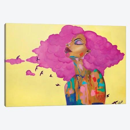 Pink Canvas Print #PKM19} by Pinklomein Canvas Art