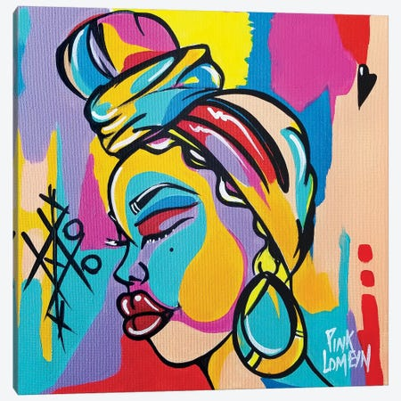 Ama Canvas Print #PKM1} by Pinklomein Canvas Art