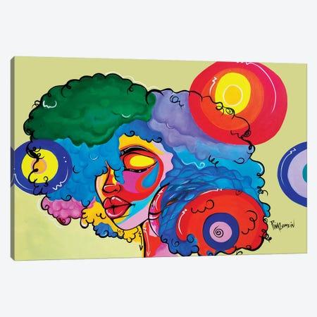 Bali Canvas Print #PKM2} by Pinklomein Canvas Art