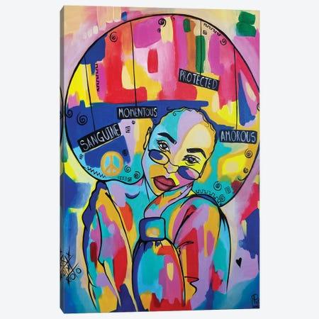 Beauty Canvas Print #PKM3} by Pinklomein Canvas Art