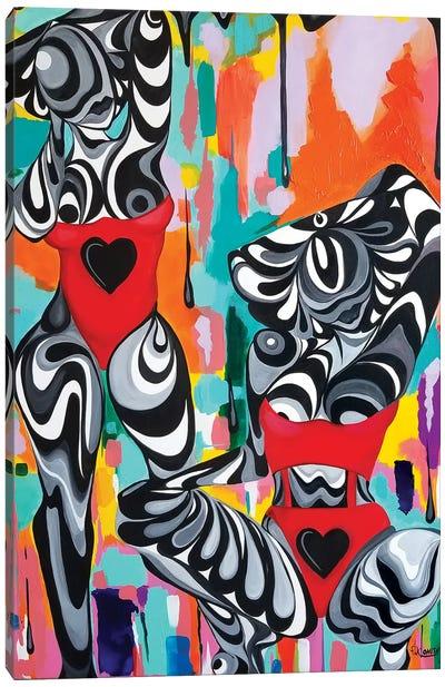 Domino Canvas Art Print