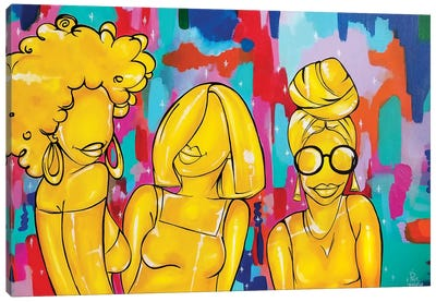 Goldbond Canvas Art Print