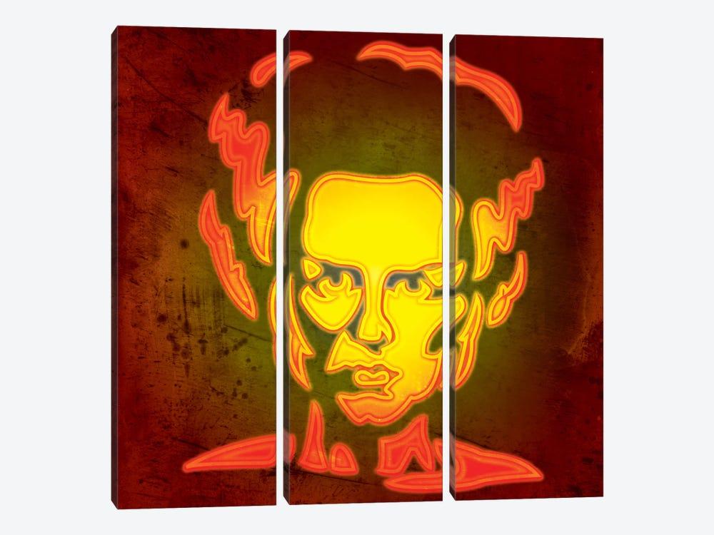 Bride Of Frankenstein by 5by5collective 3-piece Canvas Art Print