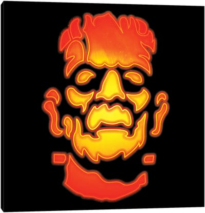 Frankenstein's Monster Canvas Art Print