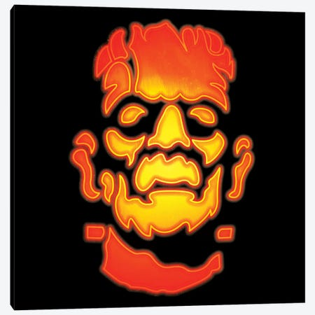 Frankenstein's Monster Canvas Print #PKN5} by 5by5collective Canvas Wall Art