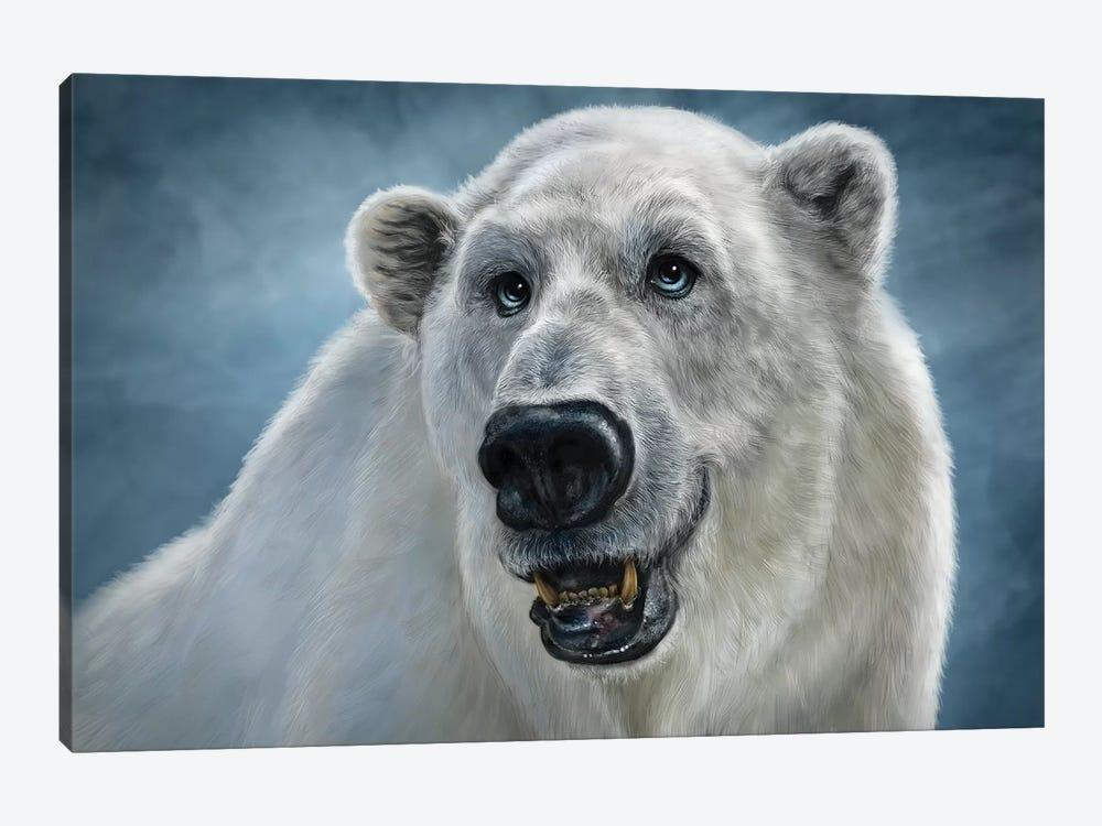 Polar Bear by Patrick LaMontagne 1-piece Canvas Wall Art