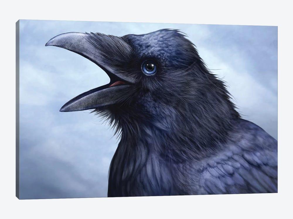 Raven by Patrick LaMontagne 1-piece Canvas Print