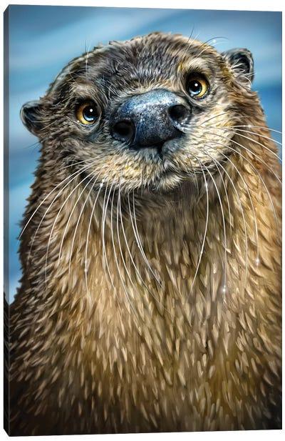 River Otter Canvas Art Print