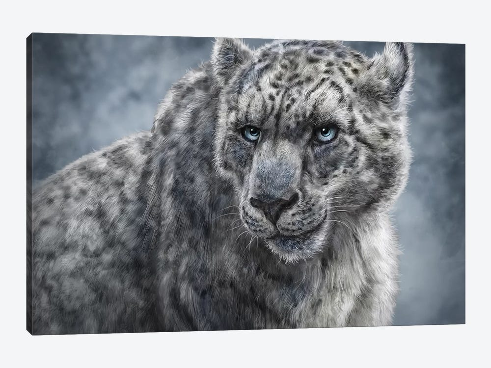 Snow Leopard by Patrick LaMontagne 1-piece Canvas Wall Art