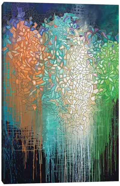 Disorganized Harmony 1251 Canvas Art Print