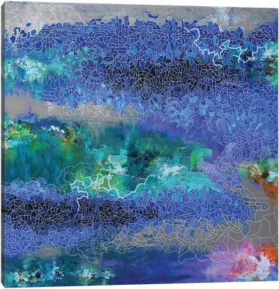 Dream Island Canvas Art Print