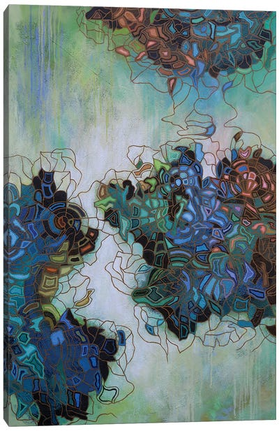 Glimmer in the Air II Canvas Art Print