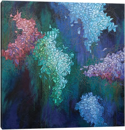 Glimmer in the Air VI Canvas Art Print
