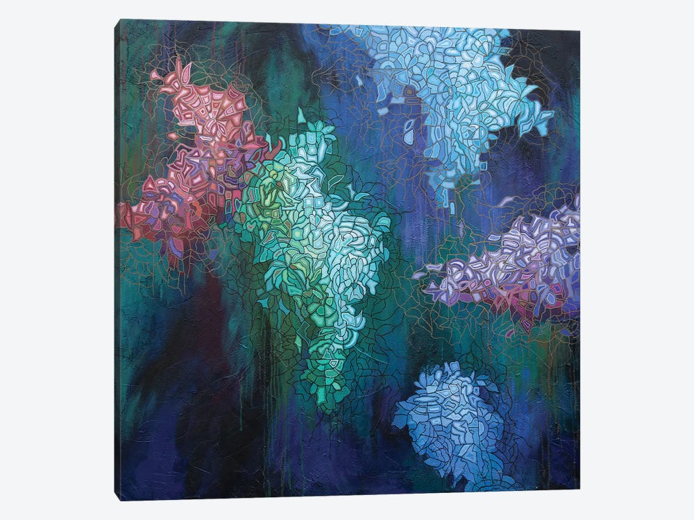 Glimmer in the Air VI by Peggy Lee 1-piece Canvas Art