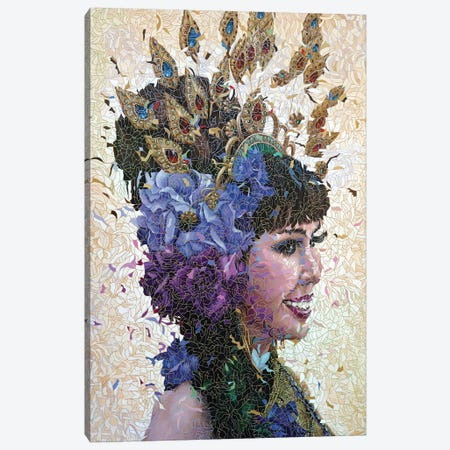Lek Canvas Print #PLE28} by Peggy Lee Canvas Wall Art