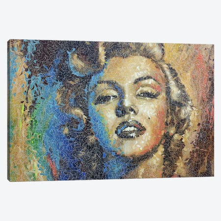 Marilyn Canvas Print #PLE29} by Peggy Lee Canvas Art